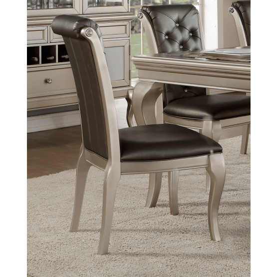 Crawford Transitional Dining Chair photo