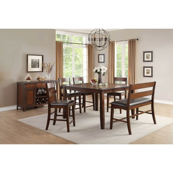 Mantello Transitional Counter Dining Room Set photo