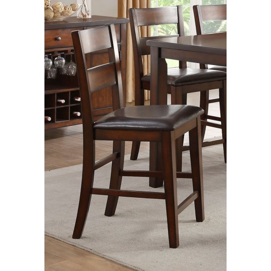 Mantello Transitional Bi-Cast Vinyl Counter Height Chair photo