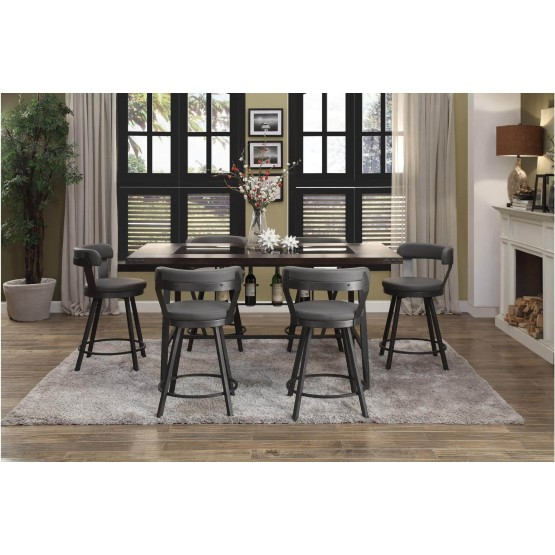 Appert Industrial Counter Height Dining Room Set photo