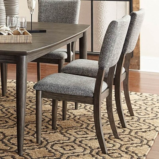 Roux Contemporary Fabric Dining Side Chair photo