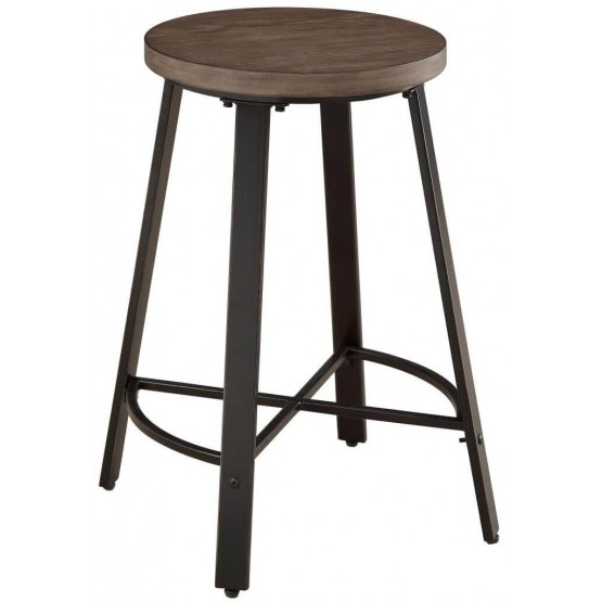 Chevre Rustic Wood Counter Height Chair photo