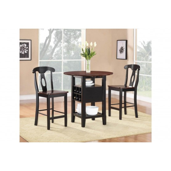Atwood Transitional Counter Height Set (Table + 2Chairs) photo