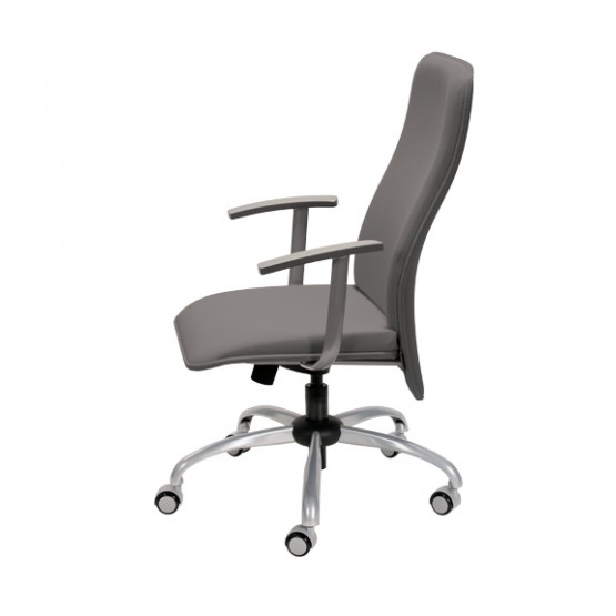 Verso Office Chair w/Veneer Armrests, High Back photo
