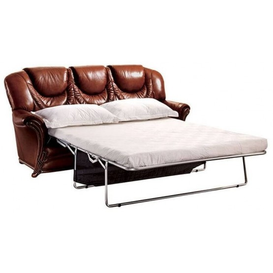67 Leather Sofa Bed photo