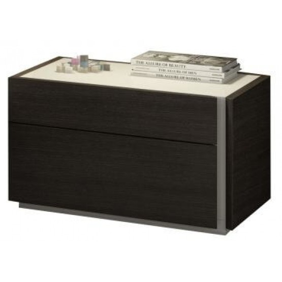 Porto Premium Wood Veneer Right Nightstand photo