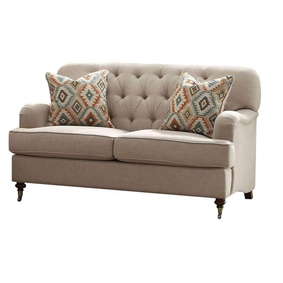 Alianza Fabric Loveseat photo