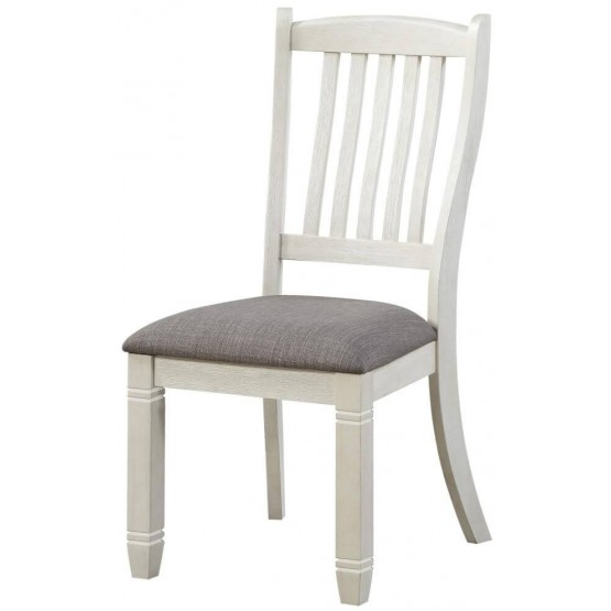 Granby Traditional Fabric Dining Side Chair photo