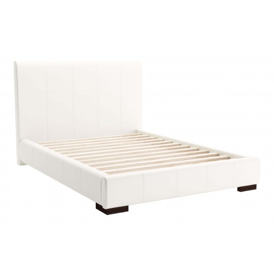 Amelie Leatherette Platform Bed photo