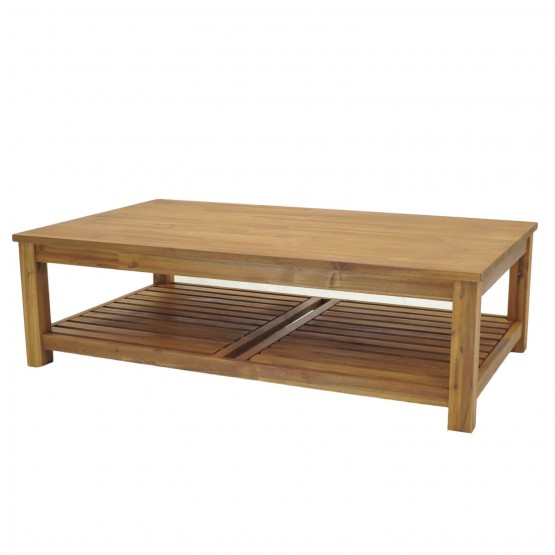 Tiburon Wood Coffee Table photo