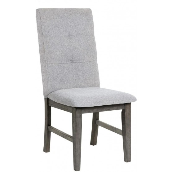 University Transitional Fabric Dining Chair photo