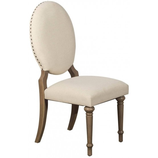 Avignon Transitional Fabric Side Chair photo