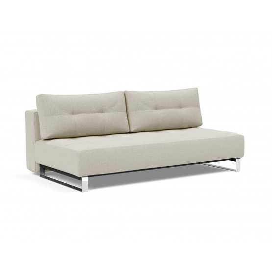 Supremax Deluxe Excess Lounger Fabric Sofa Bed photo