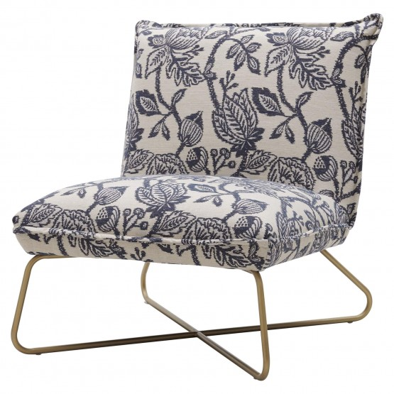 Yukon Fabric/Steel Accent Chair photo