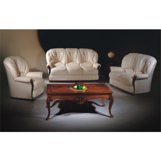 A43 Half Leather Living Room Set photo