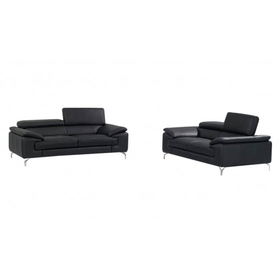 A973 Premium Leather Sofa Set By J M Furniture