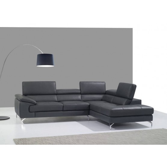A973 Premium Leather Sectional photo