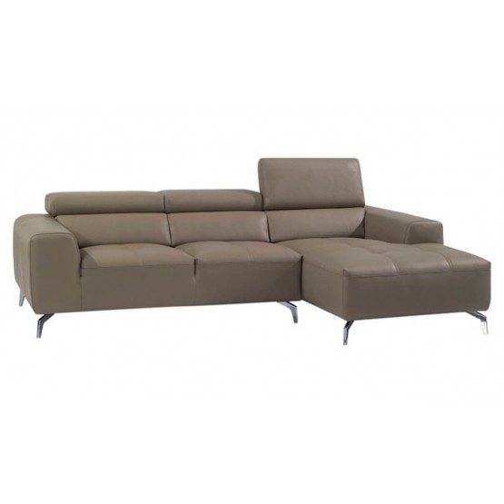 A978B Italian Leather Sectional photo