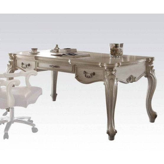 Versailles Desk, Bone White photo