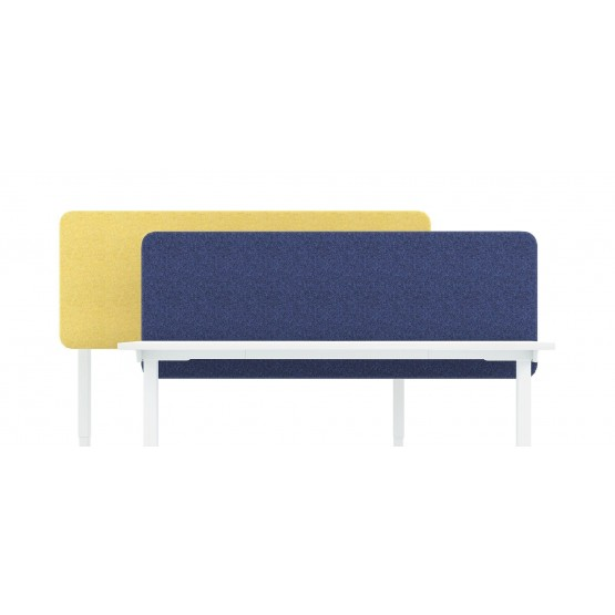 Top 530 Fabric Acoustic Desk Screen (w/Fittings) photo