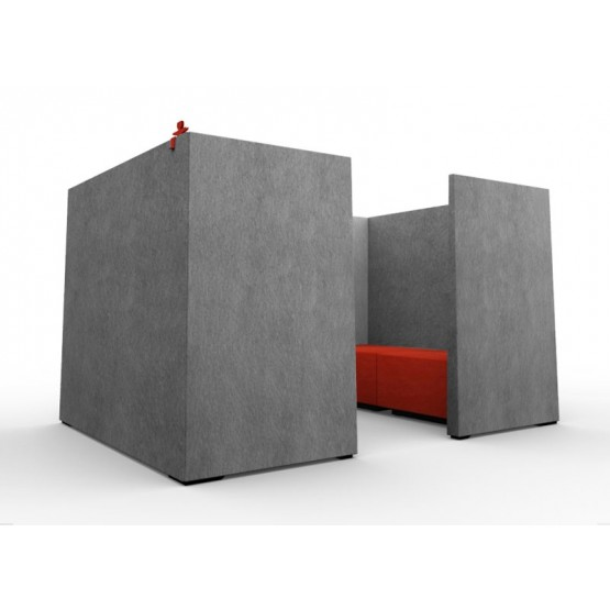 Jazz Silent Box with 5 Acoustic Walls, MDF Legs photo
