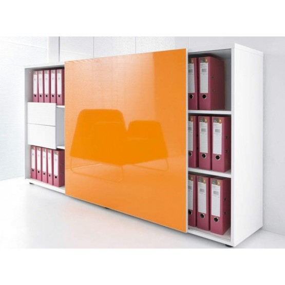Standard ZS02 Tall Managerial Storage Cabinet w/Sliding Door photo