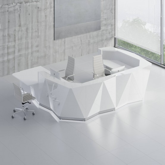 ALPA U Shaped Reception Desk w/Counter Top photo