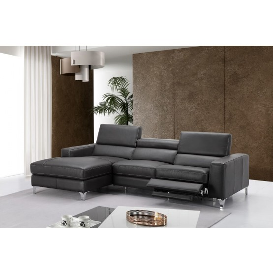 Ariana Premium Leather Sectional photo