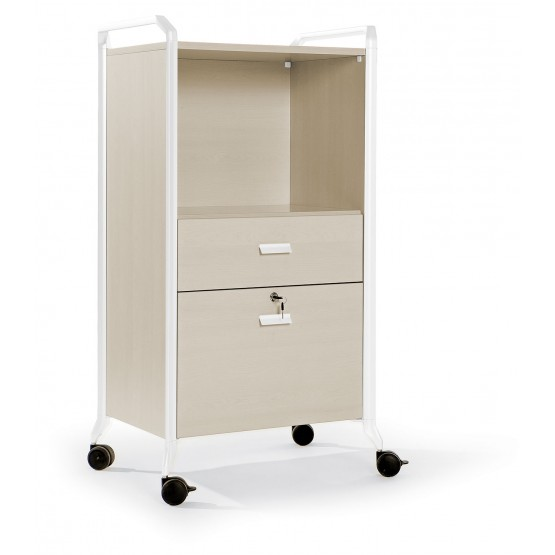 On Time 21 Mobile Storage Cabinet w/Castors photo