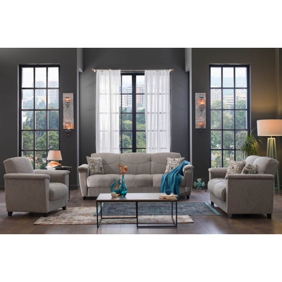 Aspen Storage Sleeper Living Room Set photo