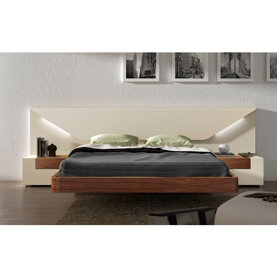 Elena LED Platform Bed photo