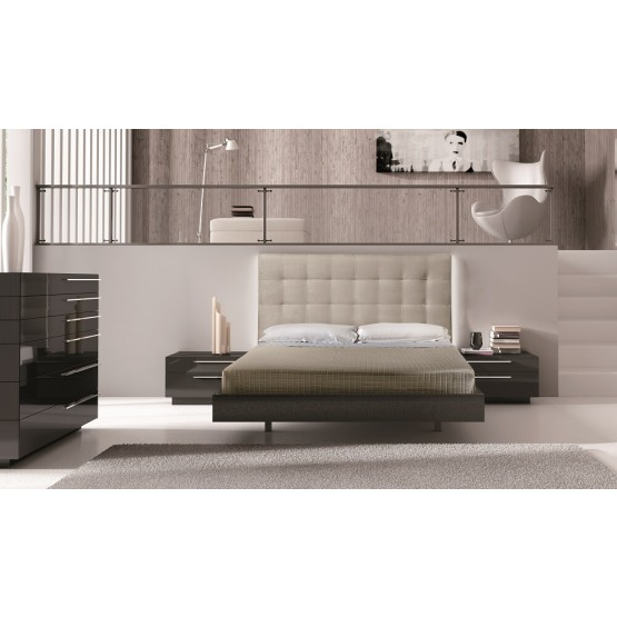 Beja Premium LED Platform Bedroom Set photo