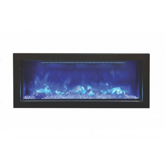 Panorama DEEP Glass Electric Fireplace photo