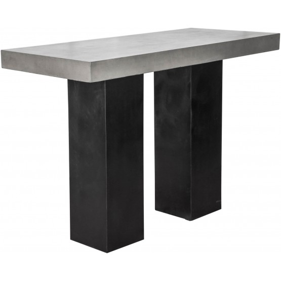 Lithic Outdoor Bar Table photo