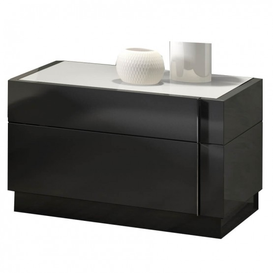 Braga Premium Wood Veneer Right Nightstand photo