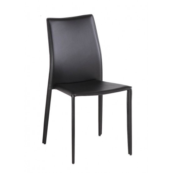 C031B Modern Leather Dining Chair photo