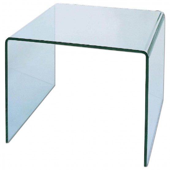 C26A Glass End Table photo