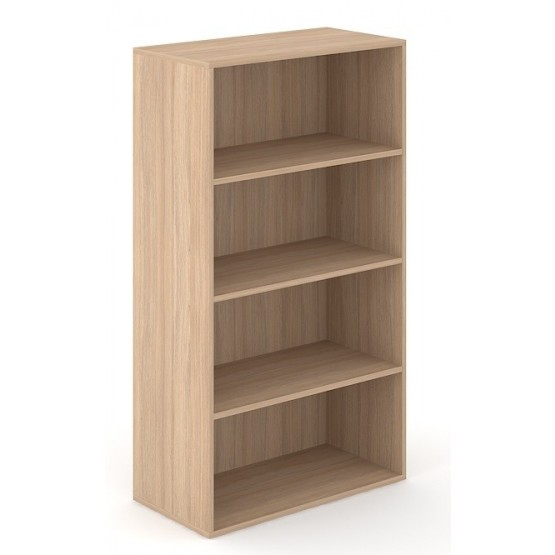 Choice 4H Office Bookcase w/3 Fixed Shelves photo
