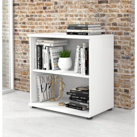 Uni Melamine Office Bookcase w/2 Shelves photo