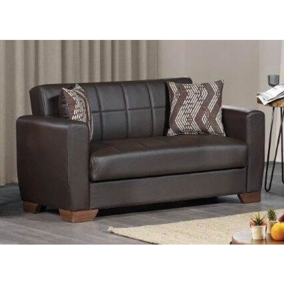 Barato PU Convertible Loveseat photo