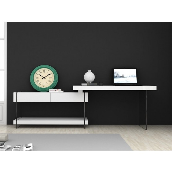 Cloud Modern Office Desk with Storage Drawers photo