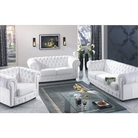 B635 Full Leather Living Room Set photo