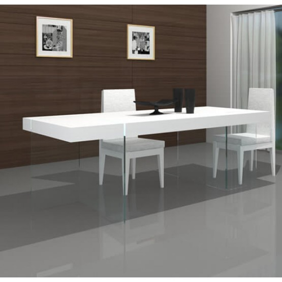 Cloud Modern Rectangular Dining Table photo