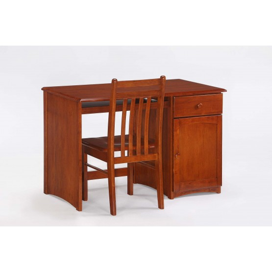 Clove Wood Student Desk w/Chair photo