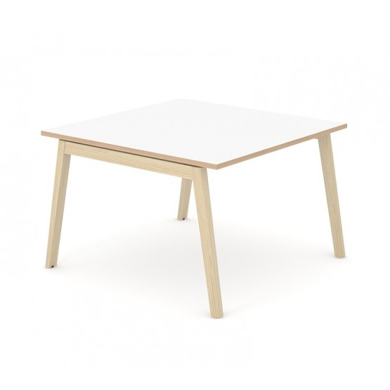 Nova Wood Square Melamine Meeting Table for 4/6 Persons photo