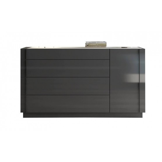 Braga Premium Wood Veneer Dresser photo