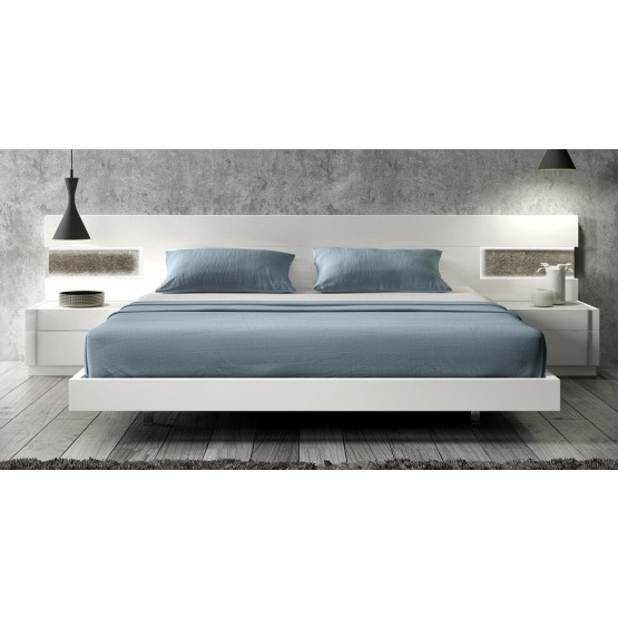 Amora Premium LED Platform Bed photo