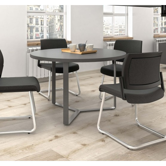 Plana Round Meeting Table for 3/4 Persons photo