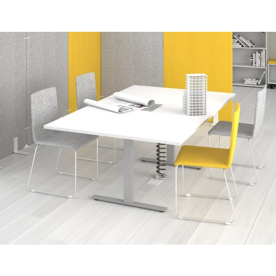 T-Easy Meeting Table w/Grommet for 8 Persons photo
