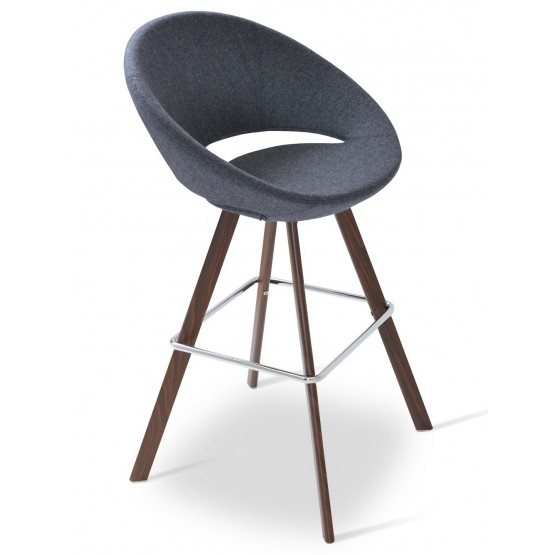 Crescent Sword Camira Blazer Wool Bar Stool photo
